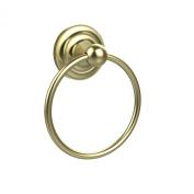 Allied Brass PQN-16-SBR 15cm Towel Ring, Satin Brass