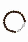 Guess Hollywood Men'S Bracelet Brown Approx. 20 CM Knights UMB21507-S