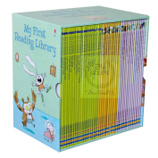 BRAND NEW My Very First Reading Library 50 Books Collection Set By Usborne