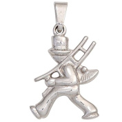 Silver Pendant Pendant 925 Silver with Extra Sweep Head
