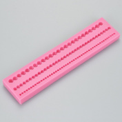 Three Pearl String Silicone Mould