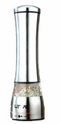 Home Fashions Contemporary Salt and Pepper Grinder Set (stainless steel) -21.5cm