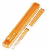 Le Bois chopsticks , chopsticks Case Set Orange 811 026