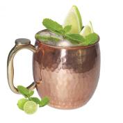 Prisha India Copper Mug for Moscow Mules 550 ML / 18 oz - Pure Copper Mug