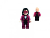 Star Sapphire mini action figure - Green Lantern inspired Batman Superheroes Minifigure custom built from Lego parts