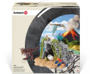 Schleich Dinosaur Set with Cave Educational Toy