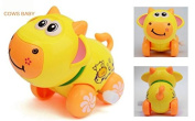 Domire Children's lovely Baby Cow Wind-up Toys