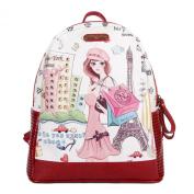 Nicole Lee Fashion Backpack, Shopping Girl, One Size