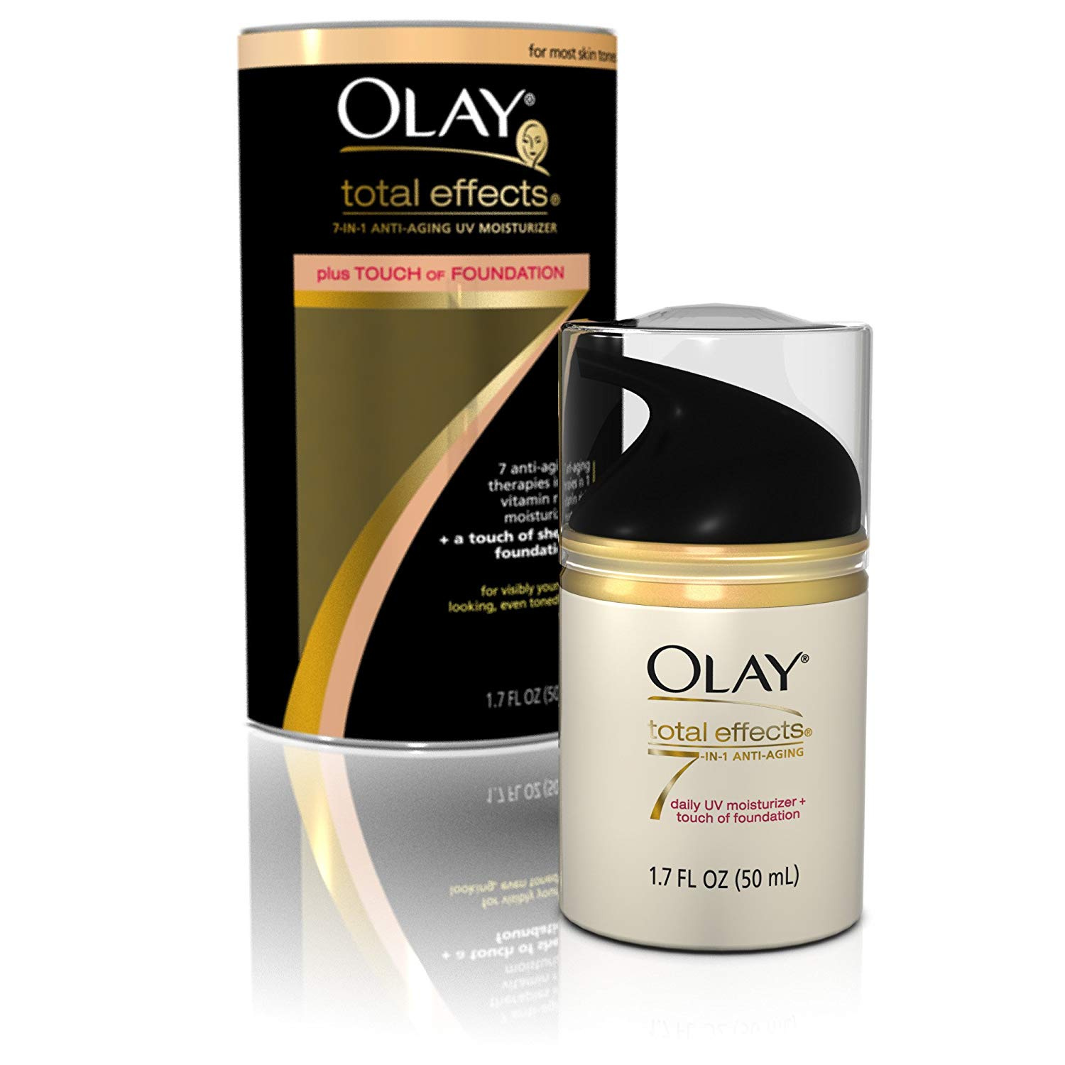 Olay Made In Thailand Beauty Buy Online From Total Effects 7 One Day Cream Touch Of Foundation Spf 15 50gr