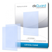 2 x disGuard Crystal Clear Screen Protector for Garmin Montana 600 - PREMIUM QUALITY