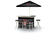 Best of Times Collegiate Patio Bar and Tailgating Centre Deluxe Package- Texas Tech