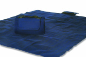 Mega Mat 100% Waterproof Backing All Season Picnic Blanket, Beach Mat And More Opens To 120cm X 150cm , Seats 2-3 Persons Plus Gear