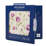 Blue Badge Company Roses Holder Hologram Safe Parking Permit Display Cover Wallet