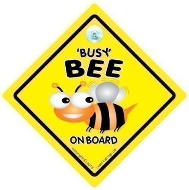 Busy Bee on Board Car Sign, Baby On Board Car sign, Child on Board, Grandchild On Board, Decal, Car Sticker, Bumper Sticker, Baby Car Sign, , Busy Bee Sign, Busy Bee, Car Sign, Baby On Board Sign, Baby Car Sign, Baby on Board, Decal, Baby Sign, Baby Ca ..