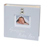 Juliana Blue Photo Album Gorgeous Baby Boy 15cm x 10cm