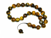 A1-0016 - Prayer Beads Worry Beads 10mm Tiger Eye Gemstone Beads Handmade by Jeannieparnell