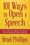 101 Ways to Open a Speech