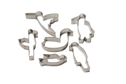 Set of 6 Bird themed Cookie Cutters