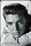 Elvis Presley metal postcard / mini-sign