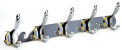 Stainless Steel Coat Robe Hat Clothes Towel Hooks Wall Hanger Rack Wesda-021
