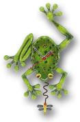 Enesco C106 Resin Frog Clock 28.5 cm