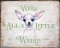 Chihuahua Shabby Chic Wooden Sign / Plaque / Picture / Print