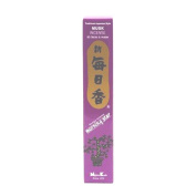 Musk Morning Star Quality Japanese Incense by Nippon Kodo - 50 Sticks + Holder