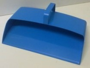 Blue Plastic Hooded Dustpan, Closed Dustpan Traditional Strong Plastic Dust pan