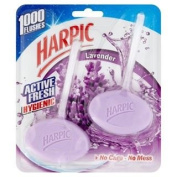 Harpic Active Fresh Twin Rim Block Lavender 2 x 40g