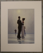 Dance Me To The End Of Love by Jack Vettriano Mounted Art Print Picture
