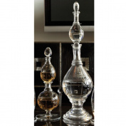 Global Views Double Decanter, Glass, 17cm Diameter by 70cm Height