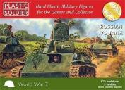 Plastic Soldier 1/72 Russian T70 Tank # WW2V20009