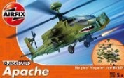 2 X Airfix Quick Build Apache Helicopter Model Kit