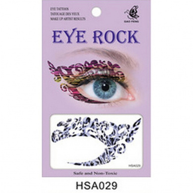 Multicolor Temporary Eyeliner Eyeshadow Lady Eye Tattoo Art Sticker Decal Paster(SA029)