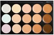 Professional 15 Colour Concealer Camouflage Palettes