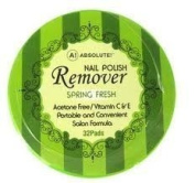 Absolute Nail Polish Remover Pads Spring Fresh Scent by ABSOLUTE NEW YORK