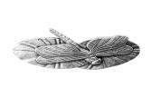 Hair Clip   Barrette   Dragonfly