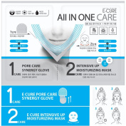 E-CURE All in One Care 2-Piece Intensive Shaping & Moisturising Face Mask