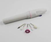 CHENGYIDA Electric Engraving Pen Mini-polishing Machine Grinding Machine With 5pcs Polishing Heads For Craft carving, engraving, routing, grinding, sharpening, sanding