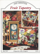 FRUIT TAPESTRY COUNTED CROSS STITCH PATTERN