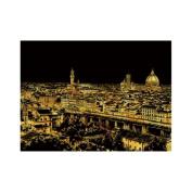Lago Scratch Paper Famous City Night View Series Firenze Florence, Scratch Paper, Art Paper