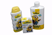 Despicable Me Minions Bath and Body Care 3 Pc Set For Kids