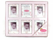 Bon Bebe Watch Me Grow Pink Photo Frame Gift Set