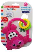 Scholastic Music Monkey, Pink