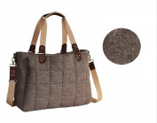 LCY Gentle Satchel Nappy Bag Coffee