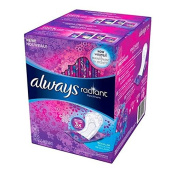 Always Radiant - Regular Panty Liners - 96 Count