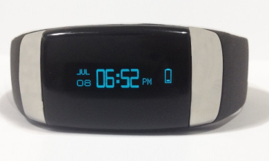 LYCOS Life Advanced, Interactive Smart Band, Black
