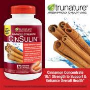 Trunature Advanced Strength Cinsulin 510 Capsules , TruNature-ed