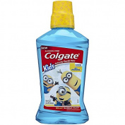 Colgate Kids Minions Bello Bubble Fruit Anticavity Fluoride Rinse, 500ml