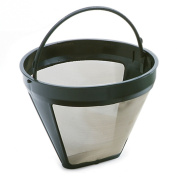 Norpro 551 Gold Tone Permanent #4 Coffee Filter